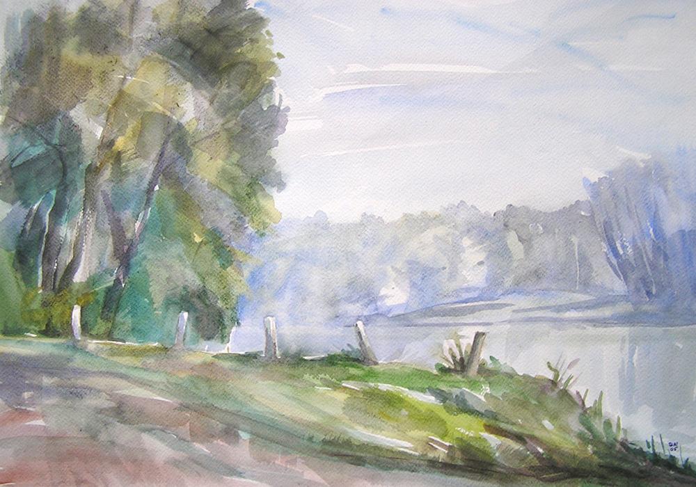 dubi akvarell
